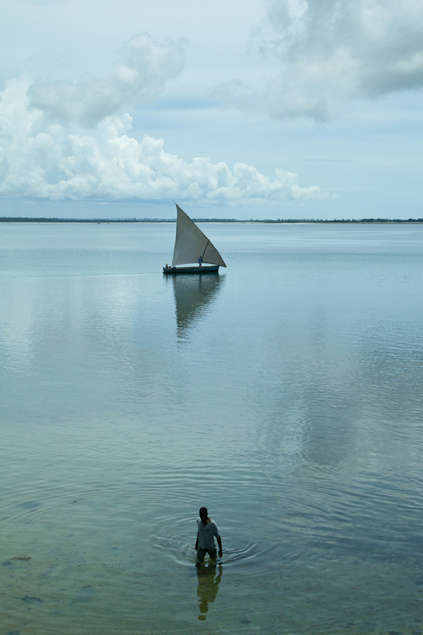 Extending over 1,500 miles, Mozambique's coastline sustains an economy and people dependent on fisheries for jobs and protein.